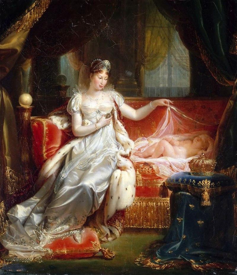 Maria Luisa e il re di Roma