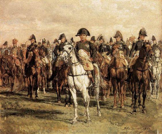 napoleon at horse