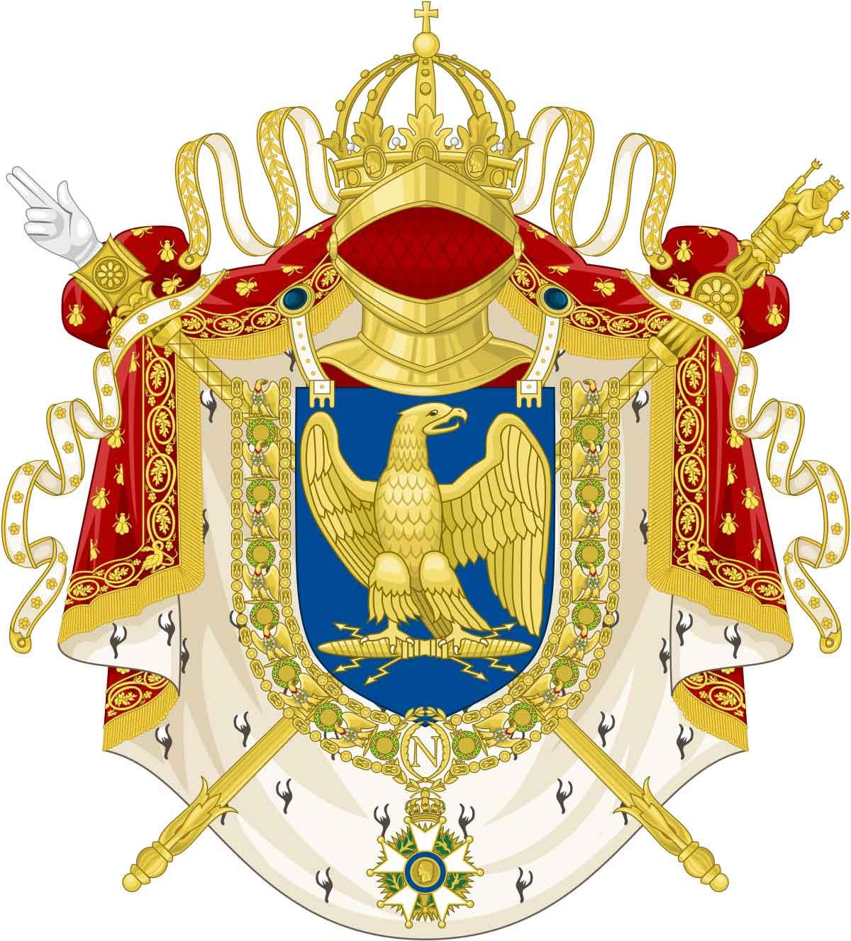stemma Napoleone