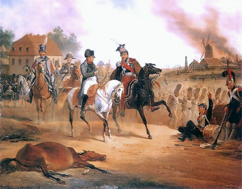 Napoleone e Poniatowsky